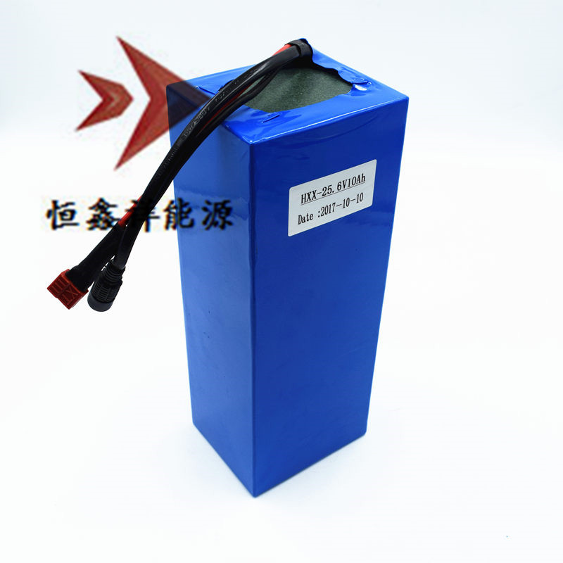 24V 10ah Lithium Iron Phosphate LiFePo4 26650 Cells Battery Pack BMS 10A for Kit Toy Car Self-balancing Scooters Power