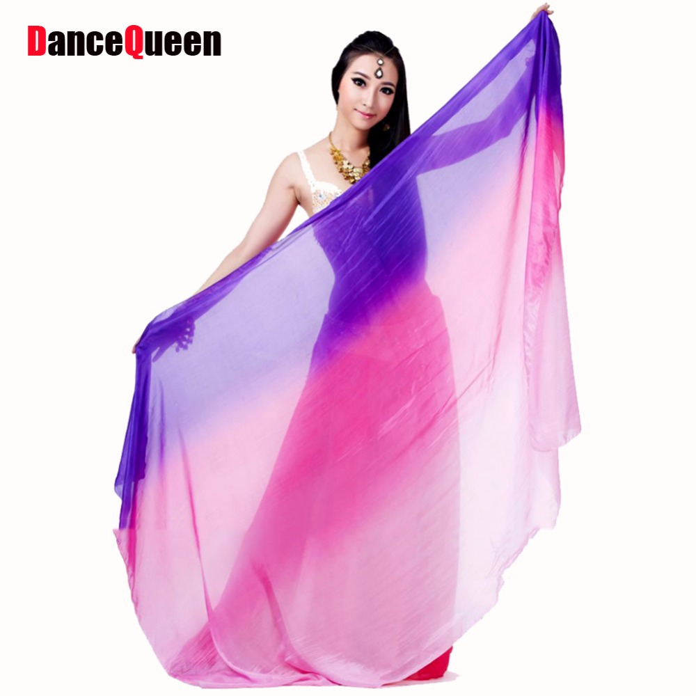 Silk Veil Belly Dance 110*200cm 110*250cm Belly Dance ...