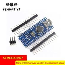 Panel V3.0 ATMEGA328P Improved version No soldering plate No wiring