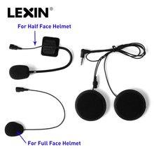 Бренд лексин домофон гарнитура и клип набор аксессуаров для LX-B4FM Bluetooth Шлем переговорные домофон разъем для наушников