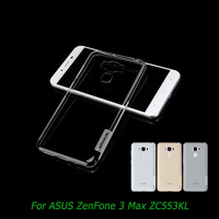 For ASUS ZenFone 3 Max ZC553KL Case NILLKIN Ultra Thin Transparent Nature TPU Case For ASUS