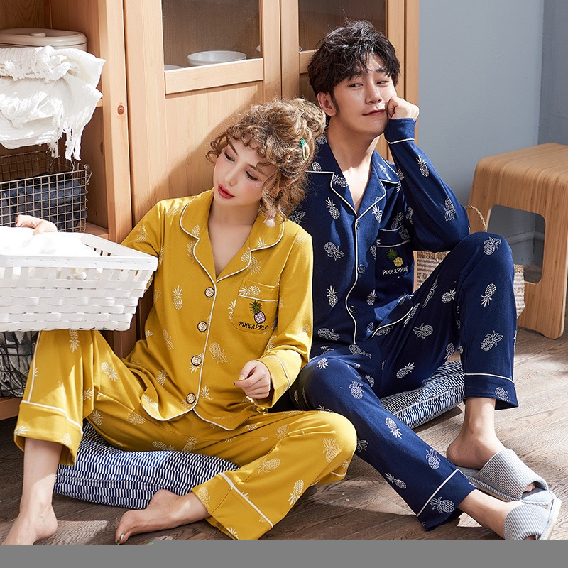 Lover Couple's   Pajama     sets     pajamas     set   summer   pajamas   for unisex women and men home   set   clothing sleepwear print home suit 2019