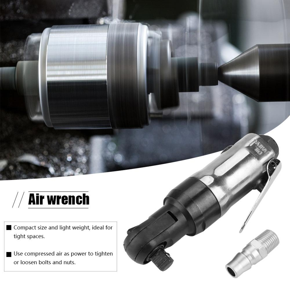 Pneumatic Air Wrench Square Drive Straight Shank Pneumatic Air Ratchet Wrench Professional Tool High Quality