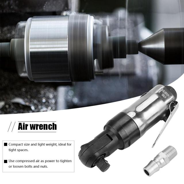 Pneumatic Air Wrench Square Drive Straight Shank Pneumatic Air Ratchet Wrench Professional Tool