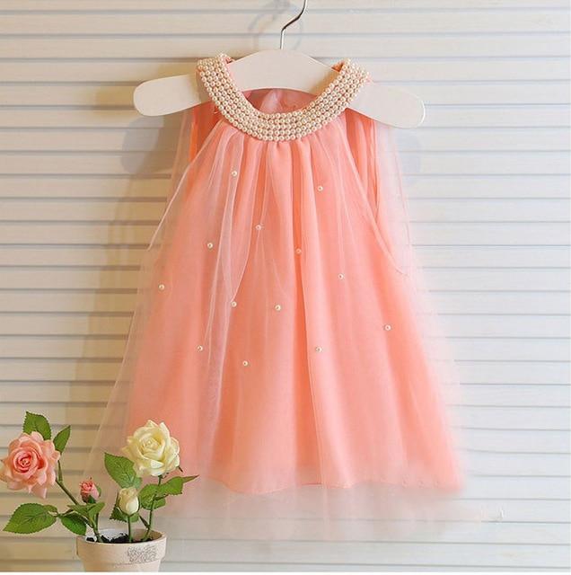 88fae934bac5 lace carton print girls dress summer 2016 nova o neck children ...