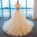 SL-46 Sexy 2017 robe de mariage Vintage Lace Wedding Dress for Pregnant