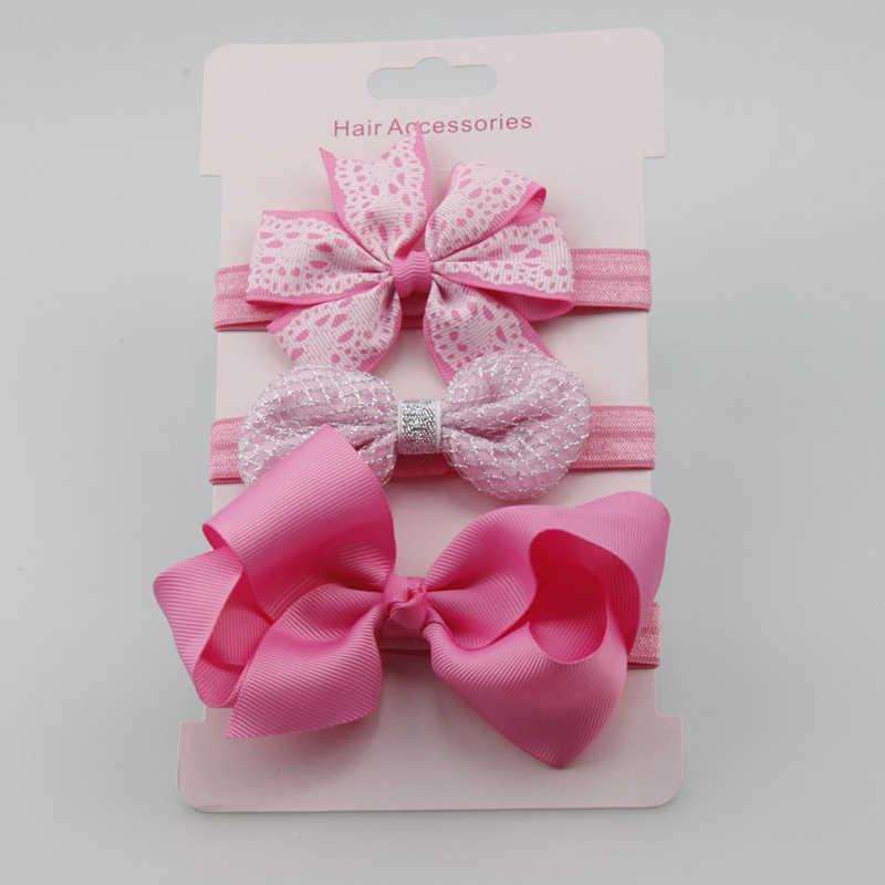 BalleenShiny 3 шт. детские Цветочный ободок для волос, для девочек комбинезон с длинными рукавами, рисунок «Hello Kitty» заколки Головные уборы Подарок Для детей ободок принцессы аксессуары для волос