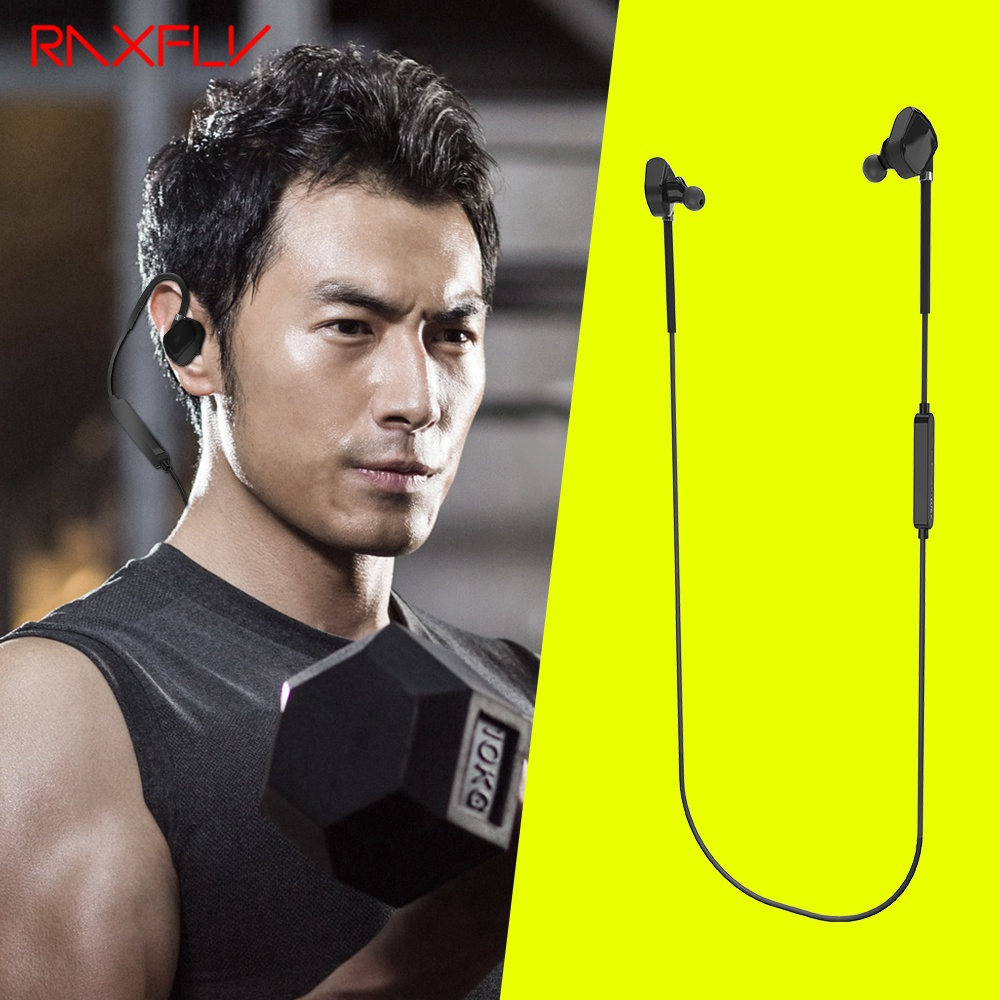 RAXFLY Wireless Bluetooth 4.1 Earphone Hifi Stereo Microphone Ear Hook Earpiece For iPhone for Samsung Sport Earbuds Accessories