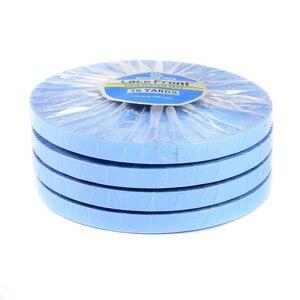 Image 3 - 36yards système de cheveux bande dentelle avant Support bleu Double face ruban adhésif pour Extension de cheveux de bande/toupet/perruque de dentelle