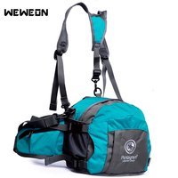 Multifunctional Waist Belt Bag Running Backpack Outdoor Cycling Hiking Waist Hip Pack Mountaineering Sport with Portable Pocket