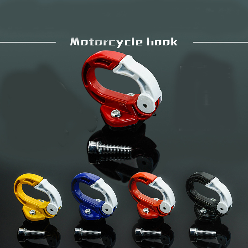 Universal Motorcycle O Shape Durable Motorbike Hook Hanger Helmet Gadget Glove Eagle Claw Hook