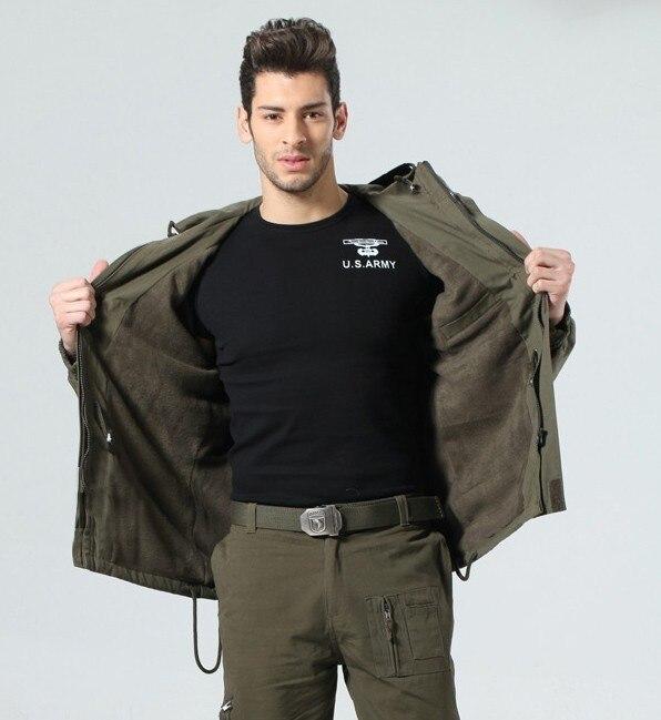 Algodão masculino do exército dos eua roupas