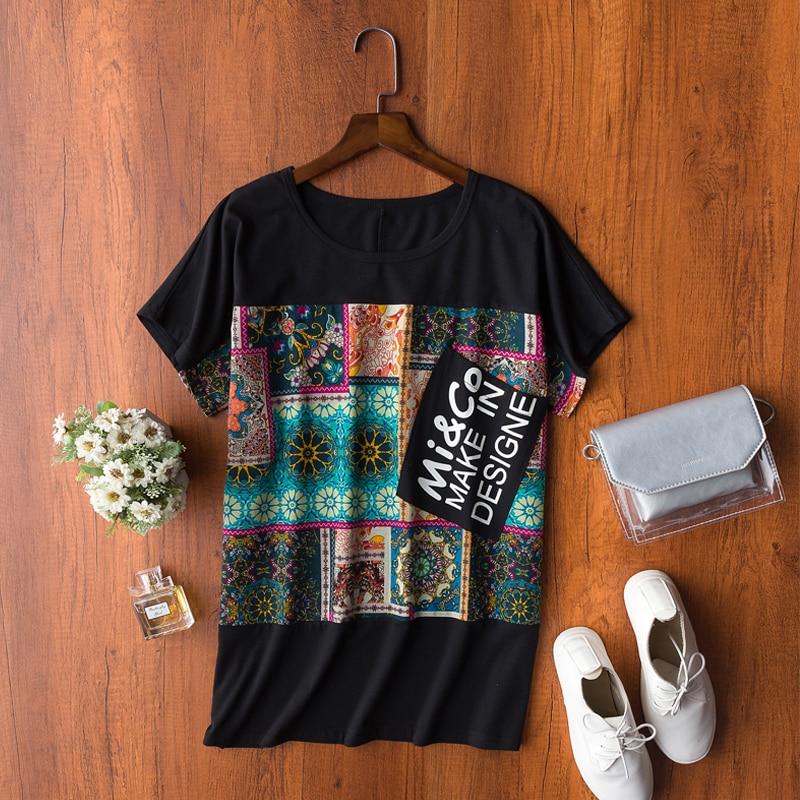 2019 Sommer Neue Baumwolle Kurzarm T-shirt Frauen Persönlichkeit Tier Harajuku Druck Schlanke Tops Casual T-shirts Plus Größe S-5xl Gepäck & Taschen