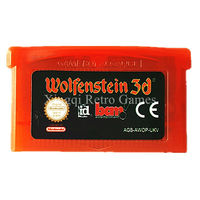 Nintendo GBA Game Wolfenstein 3D Video Game Cartridge Console Card EU English Language