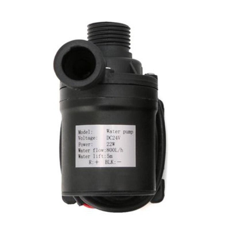 1 * wasser Pumpe DC 12/24V 800L/H Bürstenlosen Motor Tauch Wasserpumpe Elektrische Wärme Beständig
