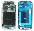 Новый для Samsung Galaxy S4 IV GT-i9500 Серебристая Передняя ЖК Середина Рамка Рамка Замена Рамы Части, бесплатная Доставка