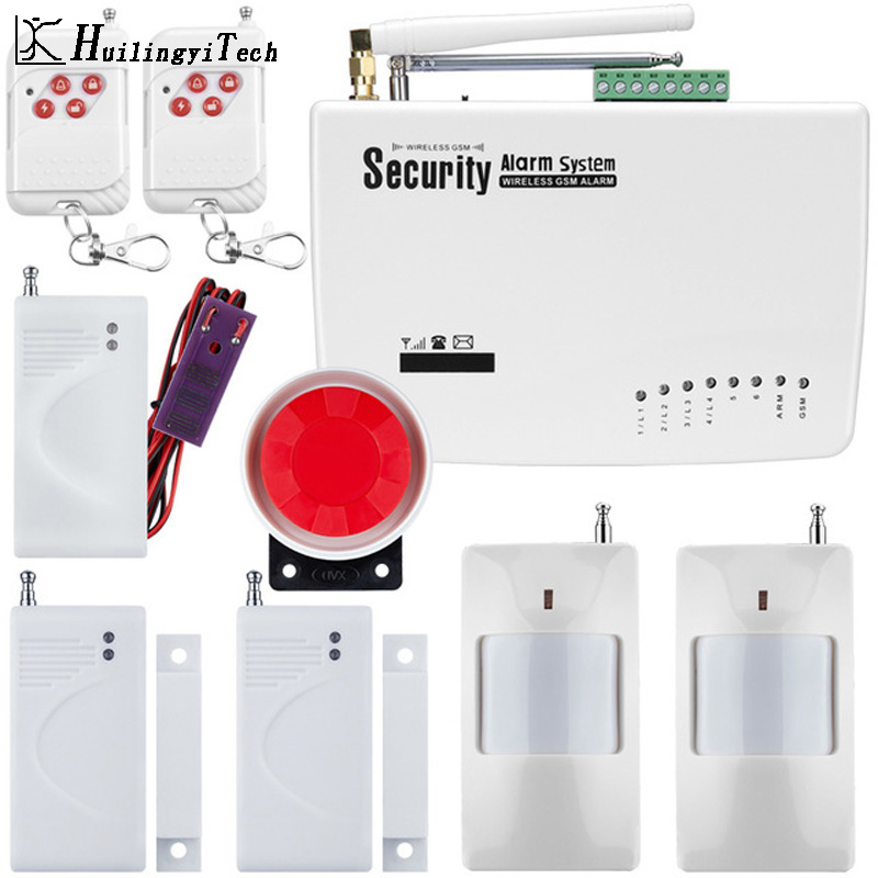 433MHz Alarm Accessories GSM Alarm System Dual Antenna Home Alarm System Security Home Signal 900/1800/1900MHz Russian English 900 1800 1900mhz gsm alarm system home alarm system alarm systems 2 years warranty russian engish voice and manual
