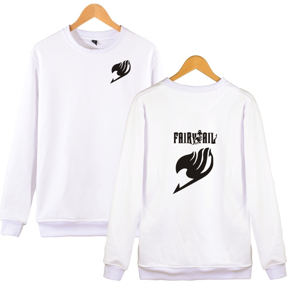 wangcangli Fairy Tail Cartoon Sweatshirts Men pullover Japanese Classic Anime sweatshirt Fashion Boys Winter Casual Clothes