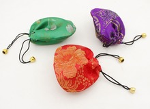 Beauty Lot 10PCS Multi-Color Silk Cloth Jewelry Gift Bags Pouches 11cmX11cm