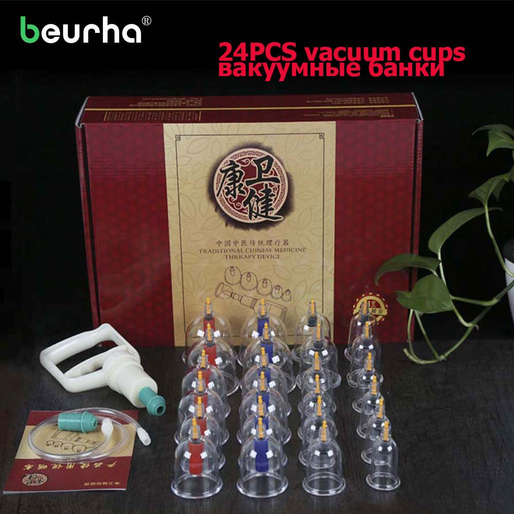 цена на Massage Cans Suction Pumps Health Cuppings Monitors Product Silicone Vacuum Cupping Massage Cupping Therapy Vacuum Massage Cups