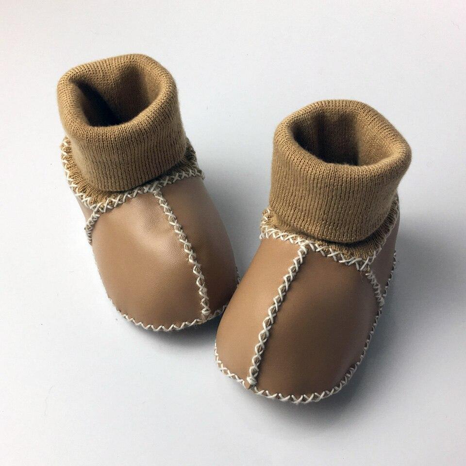 Winter Warm Schoenen PU Suède Pasgeboren Babyschoenen Bebe Fringe - Baby schoentjes - Foto 4