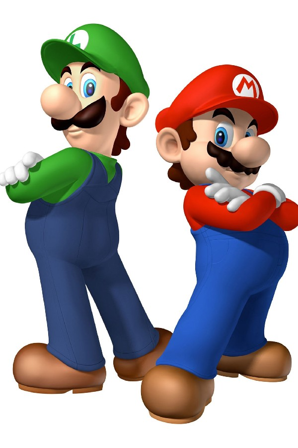 It is a photo of Shocking Super Mario Brother Pictures