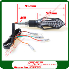 LED Turn Signal Light Indicators Lights For Dirt Pit Bike scooter motorcycle free shipping