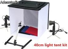 Photo Studio Fotografia Luz Tent mini caixa de estúdio 40 cm softbox Iluminação kit CD50