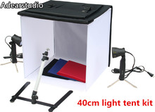 Photo Studio Photography Light Tent mini studio box 40cm Lighting softbox kit  CD50
