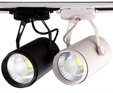 Free Shipping High Power  25W COB LED rail light spot ceiling spotlight20W 85~265V/AC