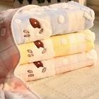 Ultra Soft Sheep Cloud Dotted Pure Cotton Washcloth Shower Bath Hand Towel