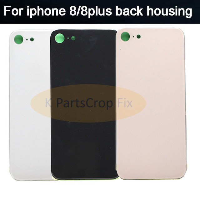 best website 3dde6 376b5 US $7.0 |For Apple iPhone8 iPhone 8 Back Battery Cover Rear Glass Housing  Case+Adhesive Sticker Repair Replacement Part For iphone 8plus -in Mobile  ...