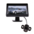 """Plegable de 4.3 """"TFT LCD Monitor Del Coche para GPS de la Cámara + Cámara de Visión Trasera de Copia de seguridad CMOS Car Parking Kit"""