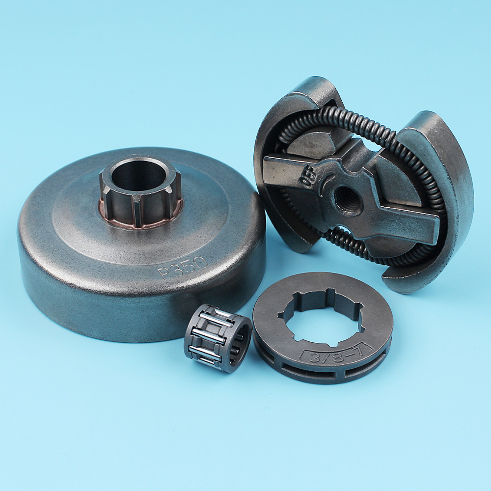 Tools : 3 8inch-7T Clutch Drum Sprocket Rim Bearing Kit For Husqvarna 235 235E 236 240 240E Jonsered 2035 2036 2040 Chainsaw Spare Part