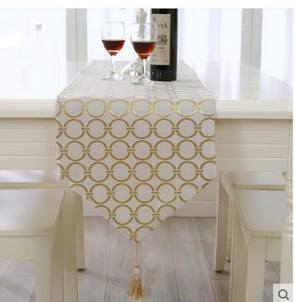 Modern Minimalist Fashion Circle Table Runner Coffee Cloth Tv Cabinet Cover Dining Flag Bed