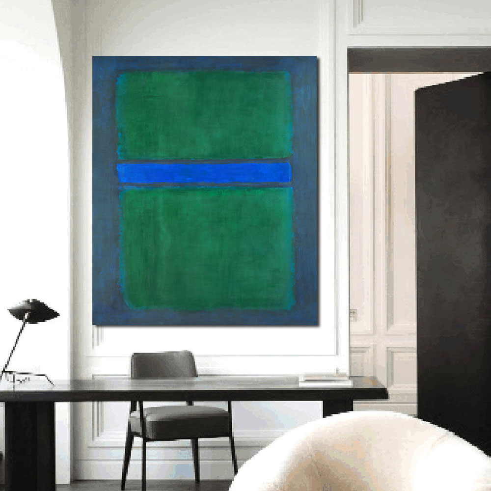 Mark Rothko Abstract Oil Painting Wall Living Room Paintings On Canvas Modern No Frame Picture