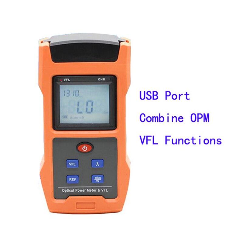 TL563 FTTH 1310 1490 1550nm PON Mètre avec Optique Power Meter, optique Laser Light Source 10 mw VFL Fonction shiping libre