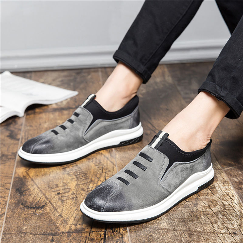 ... Autumn Loafers Real Leather Mens Sale Men Moccasins Men Slip Hot 2018  on Fashion Shoes Sneakers 670a95625e4c