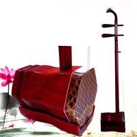Chinese Erhu Chinese instrument professional strik muziek rosewood erhu with bow string erhu accessories folk string instrument