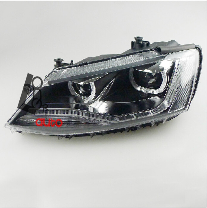 Replacement LED Headlamps V2 style for Volkswagen Jetta MK6 2011 2012 2013 2014 replacement led headlamps v2 style for volkswagen jetta mk6 2011 2012 2013 2014