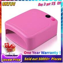36 Вт УФ лампа Сушилка для ногтей маникюр гель с таймером дизайн ногтей машина ЕС plug