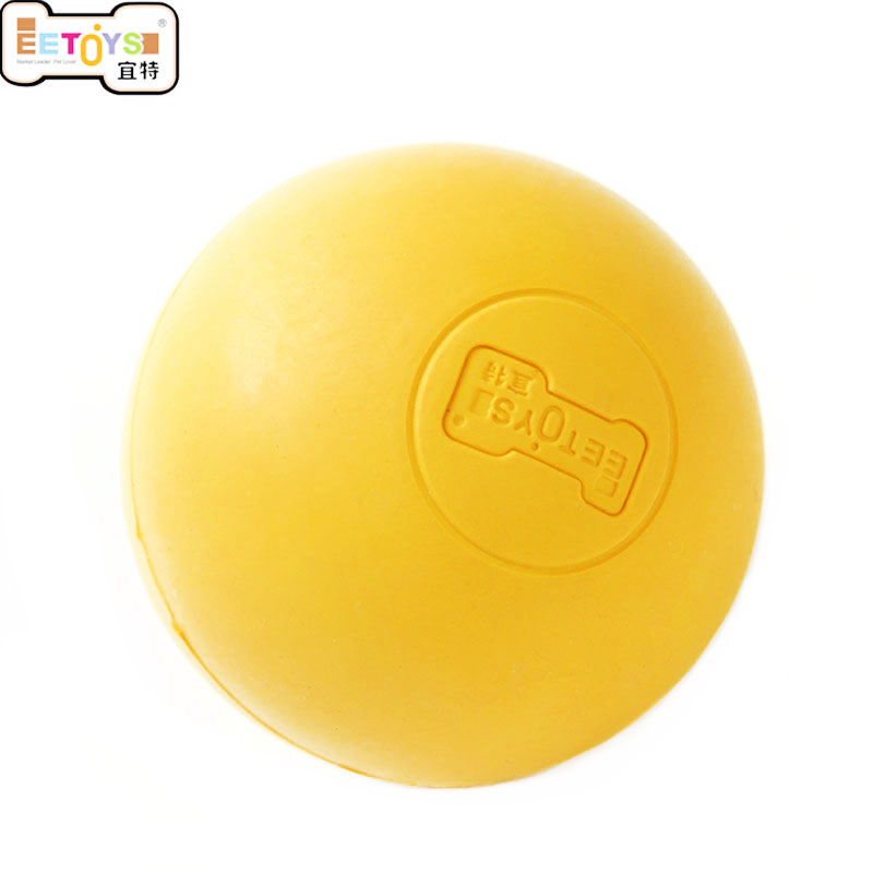 Natural Rubber solid Elastic Pet Dog Ball Toys Bite Resistant Training Balls Pets Dogs Toy for Puppy Small Large Dog