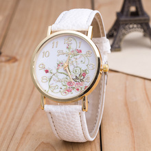 Casual Ladies Wrist Watch Pu Leather Band Quartz Watches Generve Brand new Women's Watches 8848