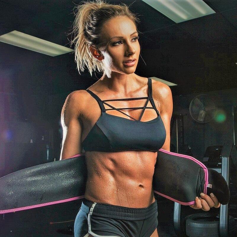 20*110cm Neoprene Sweat Belt Waist Trimmer Belt Weight Loss Sweat Band Wrap Fat Tummy Stomach Sauna Sweat Belt For Walking Waist Support     - title=