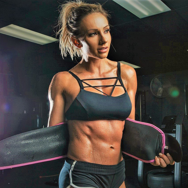 20*110cm Neoprene Sweat Belt Waist Trimmer Belt Weight Loss Sweat Band Wrap Fat Tummy Stomach Sauna Sweat Belt For Walking