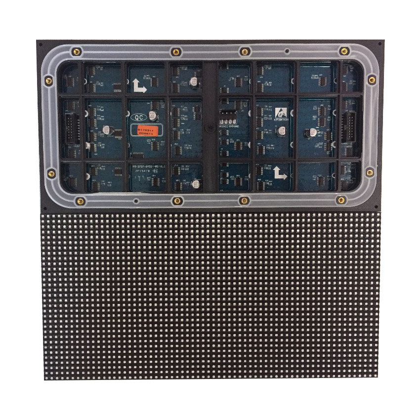 Waterproof P5 SMD 2727 Outdoor Full Color Led Display Panel, 64x32dots 1/8 Scan 320x160mm Rgb Led Module, LED Video Wall Screen