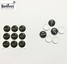 Barkivon 14mm Vervanging auto badge sleutel sticker voor Lada flip folding key emblem logo gemaakt door platte siliconen of gebogen aluminium