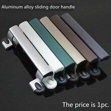 Салатные руки раздвижные двери Алюминиевый сплав Пластиковые двери с shake handshandle ручка