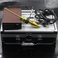Dnail Kit met 3 kleur PID 3 stijl heater coil Nail WAX damp Droog Gedroogde Kruiden E Sigaar Glazen Pijp Recycler Olie Rigs