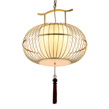 Chinese Style Modern Pendant Ceiling Lamps Birdcage Iron LED Pendant Lights Dining Room loft Pending Lighting Hanging Light jentinsun new iron birdcage pendant lights lamp loft vintage wrought iron cage pendant light hanging lamps for villa restaurant